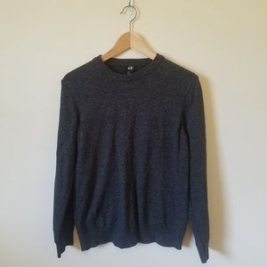 H&M Grey Crewnl neck Pullover Sweater